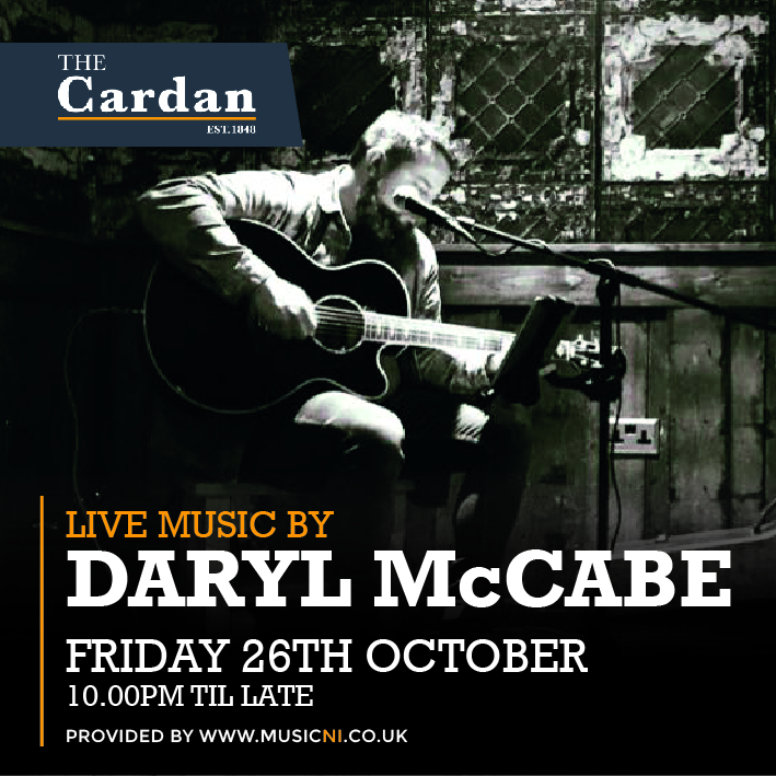 FRIDAY LIVE with DARYL McCABE