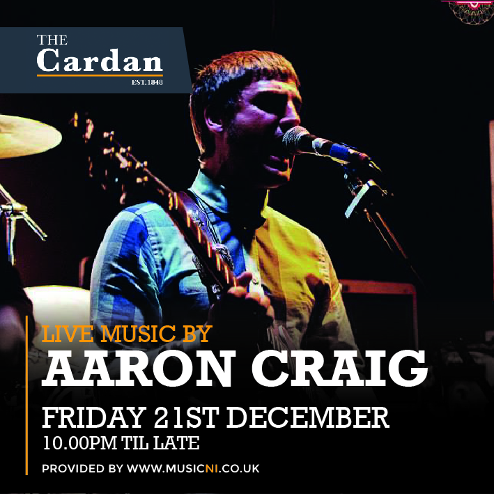 FRIDAY LIVE with AARON CRAIG