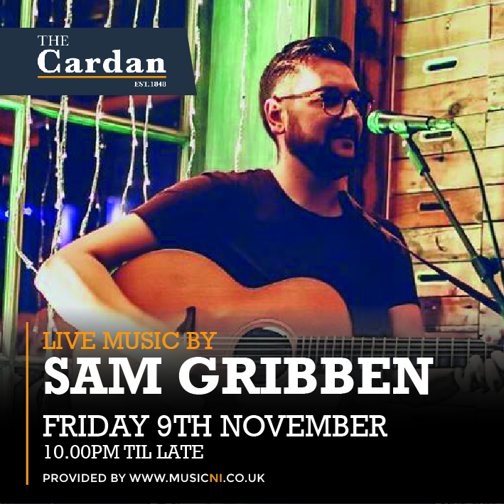 FRIDAY LIVE with SAM GRIBBEN