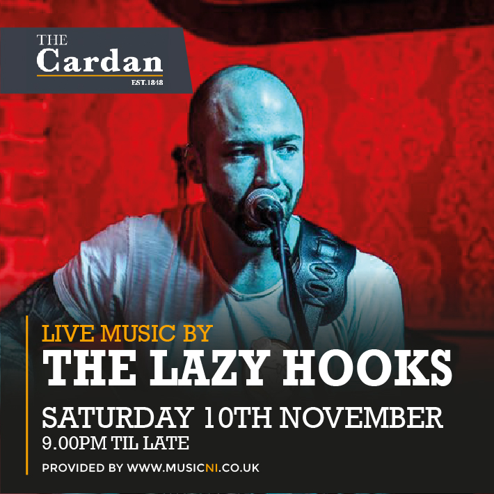 SATURDAY LIVE with THE LAZY HOOKS